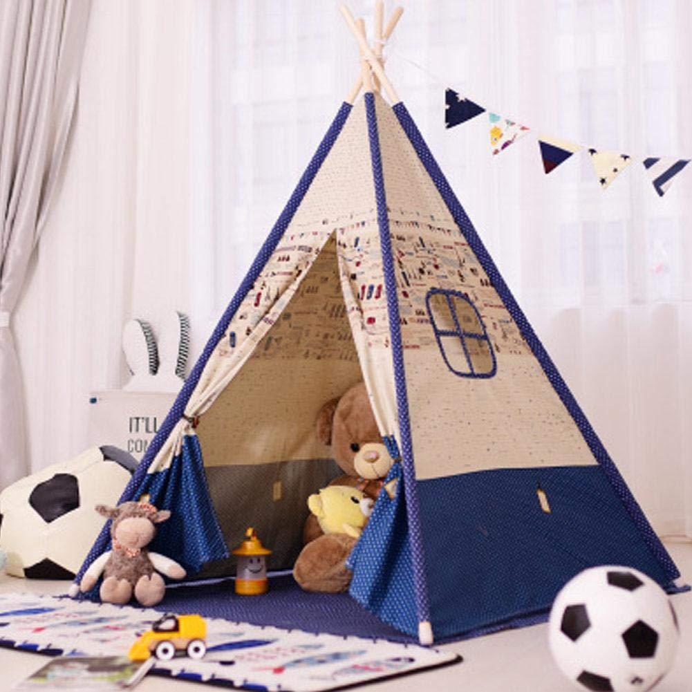 c844fea459c3 Amazon.com : Indoor Teepee Tent, Kids Classic Indian Play Tent ...