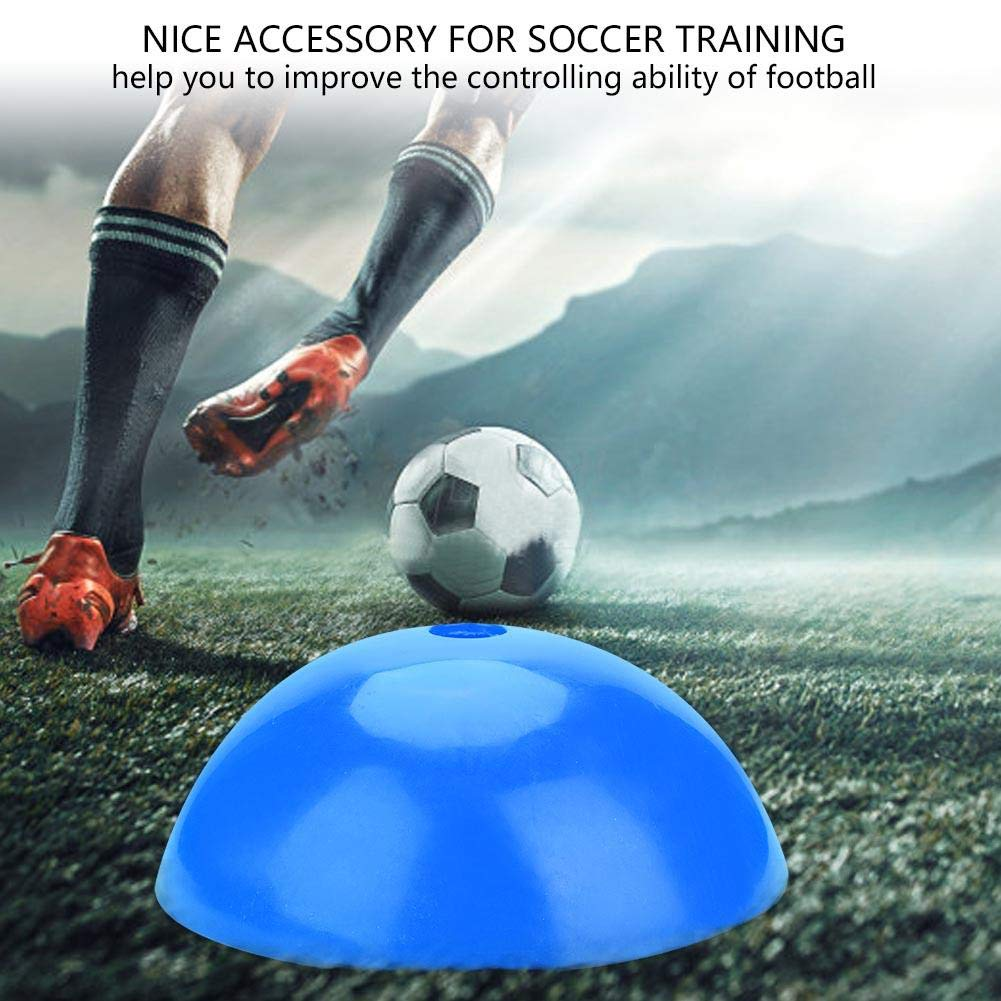 VGEBY1 Soccer Cones Practical Field Cone Discs Marker for Soccer Football Sports Speed Training