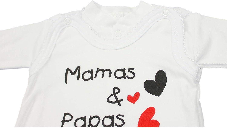 TupTam Unisex Baby Strampler Set Spruch Mamas /& Papas Schatz