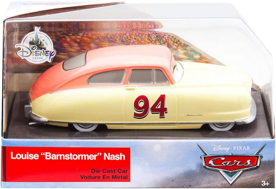 Disney Cars Pixar Die-Cast Louise Barnstormer Nash Vehicle Mattel DXV38