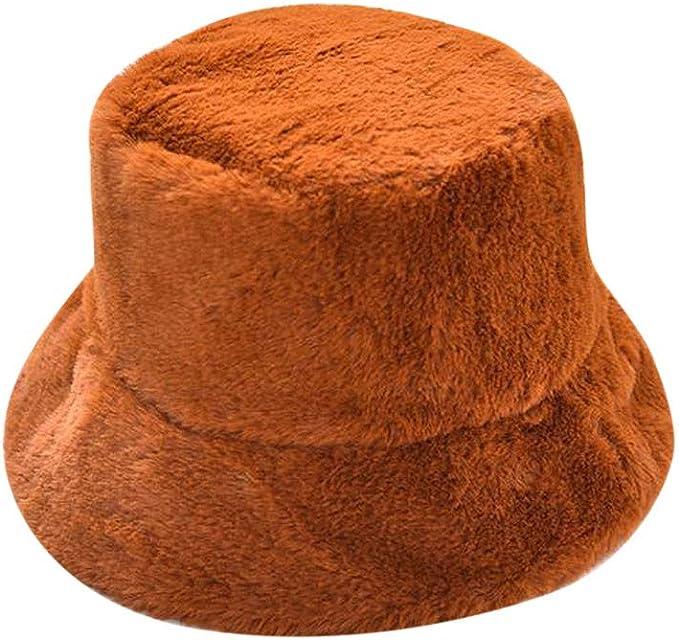 GoldPang,Sombrero de Las señoras,Gorro de Felpa Sombrero Grueso ...