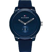 Tommy Hilfiger Men's Analog Quartz Watch with Silicone Strap 1791803