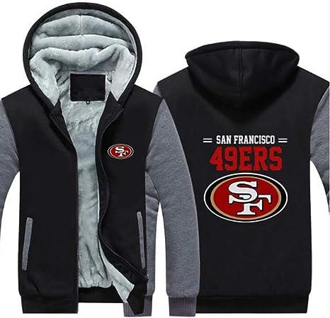 NFL Jersey Hoodie Green Bay Packers Football Clothing Long Sleeve Zipper Casual Comfortable Sweatshirt