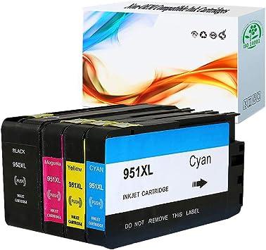 3 PK 951XL Magenta Ink Cartridges for HP Officejet Pro 8600 Plus 8610 8610 251dw