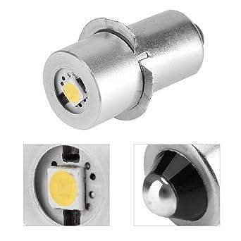 Bombilla LED de alta potencia para linterna LED, 1 W, repuesto de bombilla LED