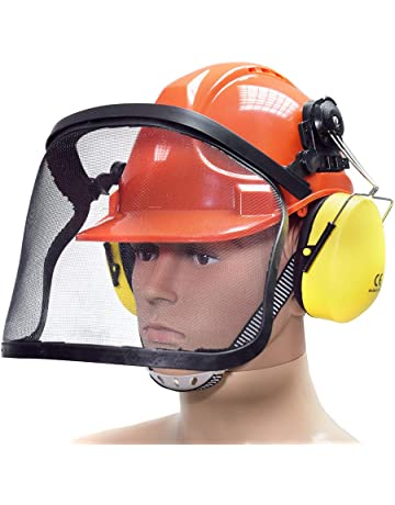bituxx® Casque de protection forestier casque de protection casque de  sécurité de travail Casque Casque e0897a781b05
