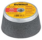 DEWALT Grinding Wheel, Steel Backed Cup, 4-Inch x