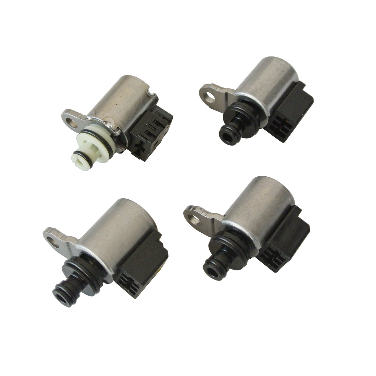 JRL 4pcs CVT Transmission Solenoid Kit JF011E RE0F10A F1CJA For Nissan Dodge by JRL