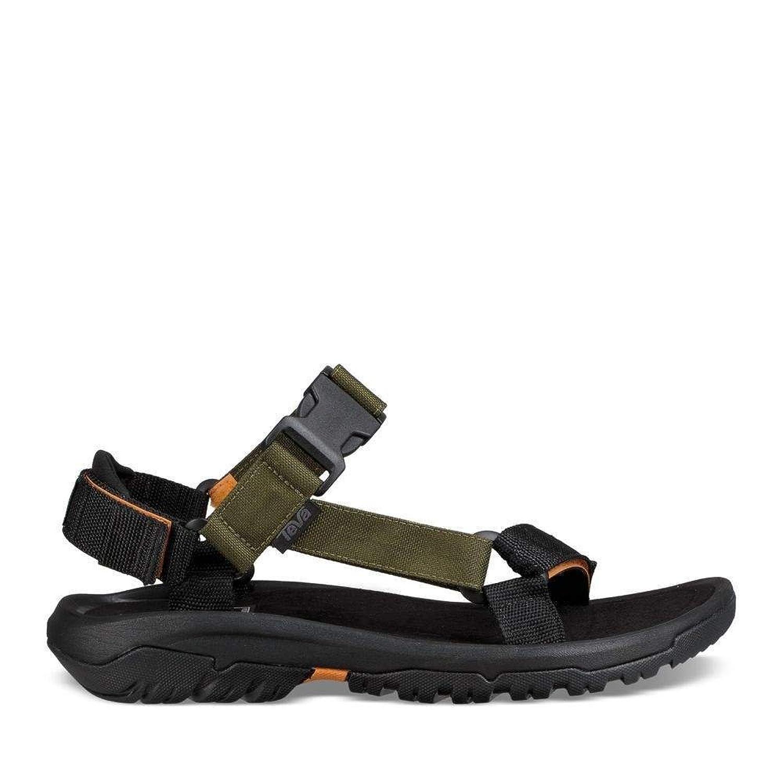 Teva - Sandalias de Vestir de Lona para Hombre Black Khaki 40.5 EU