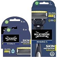 Wilkinson Sword - Maquinilla de Afeitar Hydro 5 Sense Energize + 8 Recambios de Cuchillas de Afeitar, Menta Energizante…