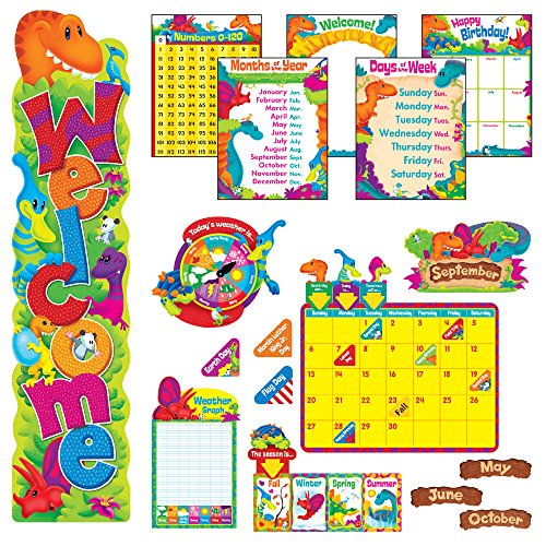 - TREND enterprises, Inc. T-51004 Dino-Mite Pals Everyday Room Décor Super Packs