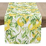 SARO LIFESTYLE Citrea Collection Table-Toppers, 16'' x 72'', Multi