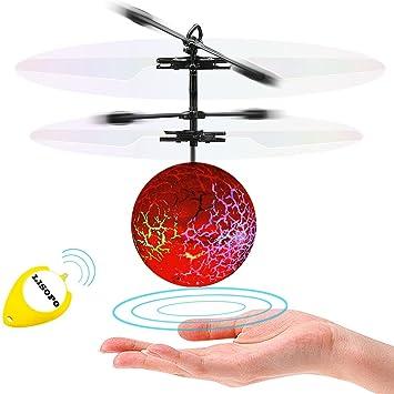 LISOPO RC Flying Juguetes, Niños Música Flying Ball, Drone ...