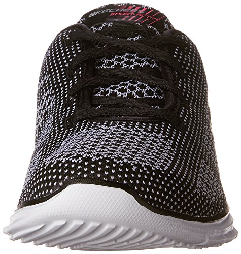 Skechers Glider - Forever Young - Zapatillas Mujer Black (Bkw)