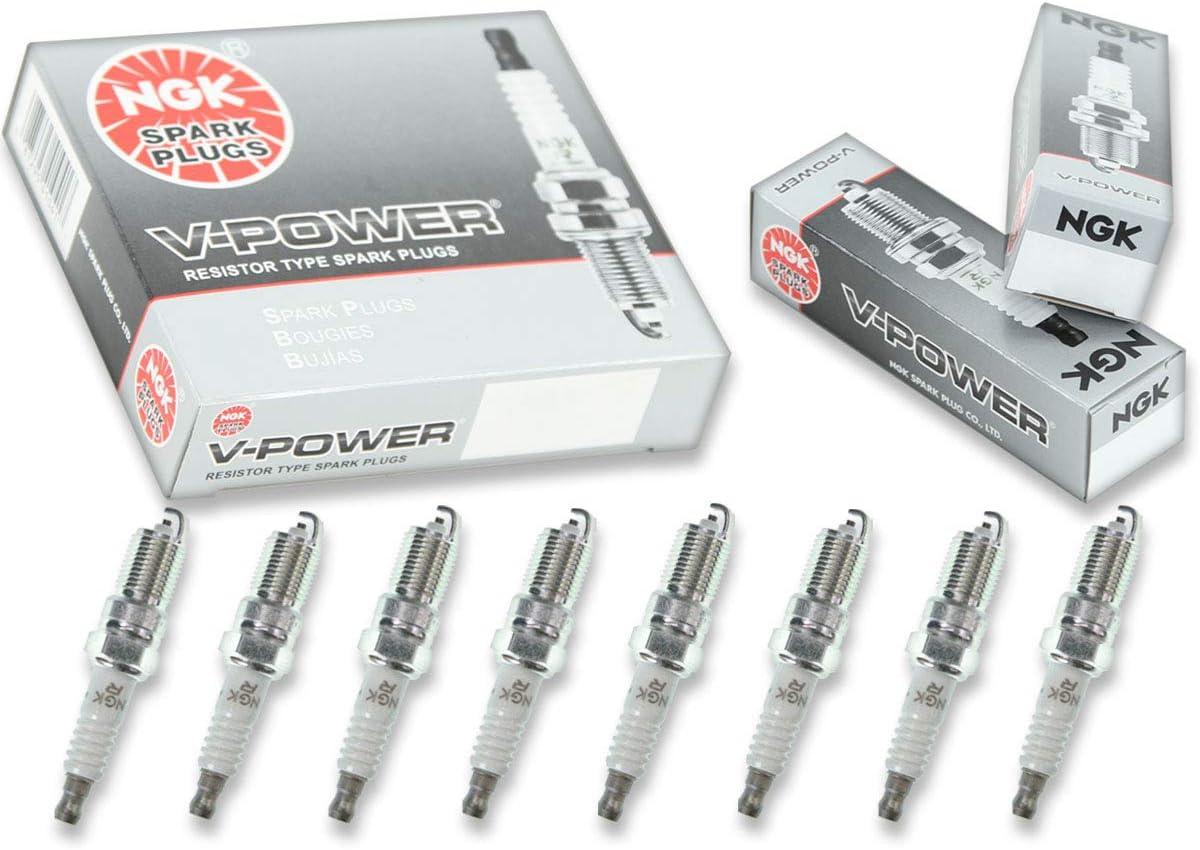 8 pcs NGK V-Power Plug Spark Plugs 1992-2011 Mercury Grand Marquis GAS 4.6L V8