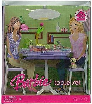 Amazon.com: Barbie My House Table Set: Toys & Games