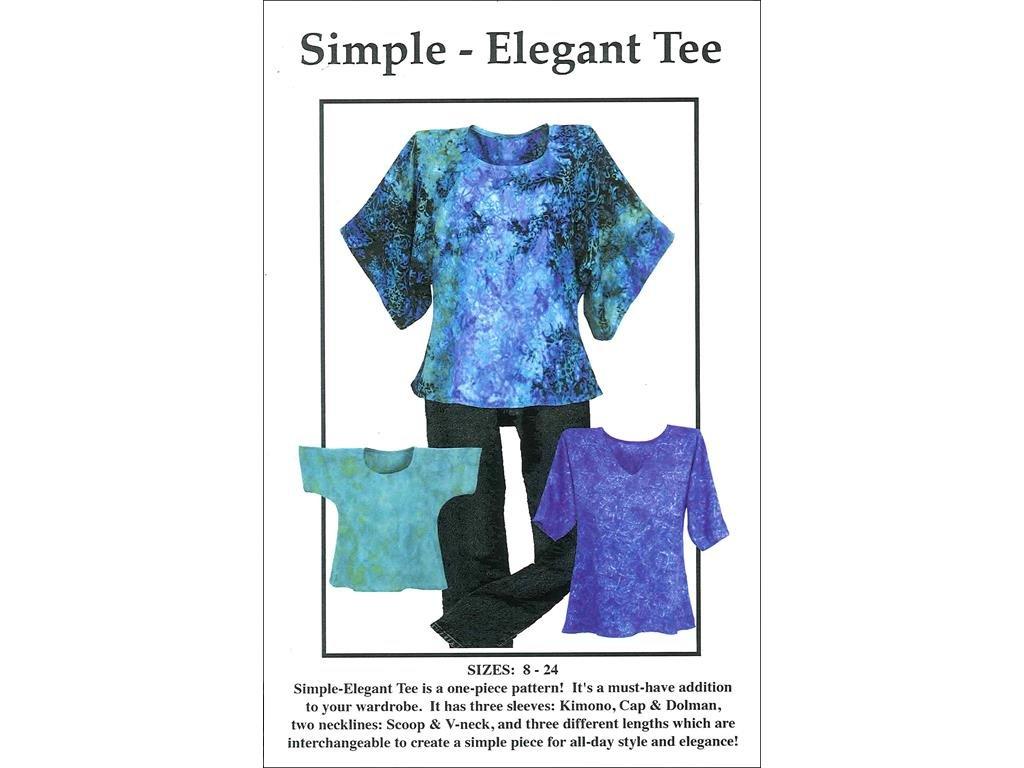 CNT Patterns CNT Ptrn Simple Elegant Tee Pattern