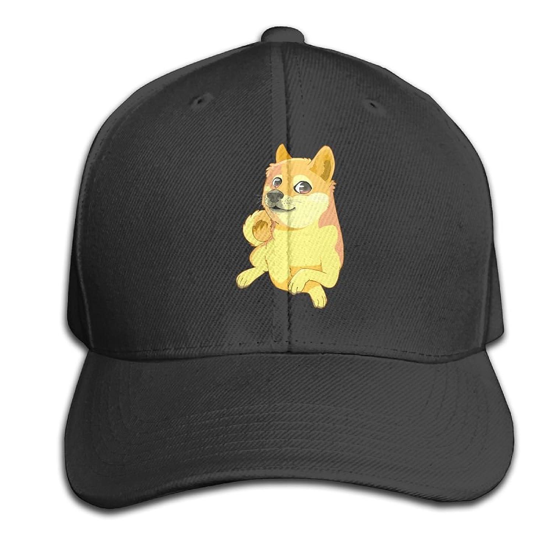 Mr.Roadman Unisex Peaked Cap Cute Shiba Inu Lover Baseball Hip-hop Caps  Vintage ad9c0b286d1