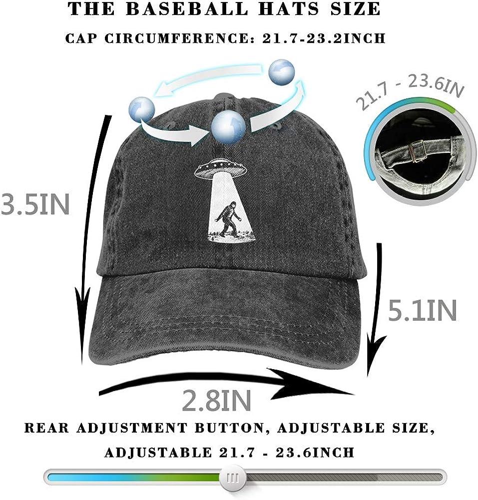 Classic Vintage Baseball Cap Washed Cotton Denim Adjustable Low Profile Dad Hat for Men/&Women