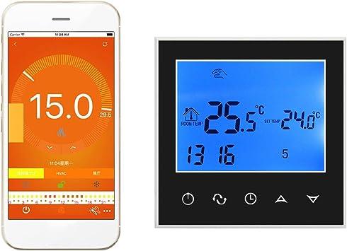Wifi termostato inteligente controlador digital programable ...