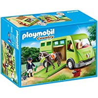 PLAYMOBIL® Horse Transporter Building Set