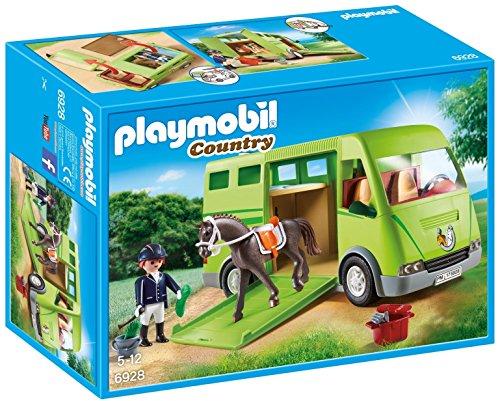 PLAYMOBIL® Horse Transporter Building Set