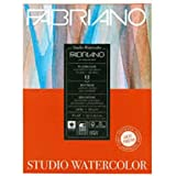 Fabriano Studio Watercolor Paper Pad 9X12 HP 300GSM 140 LB