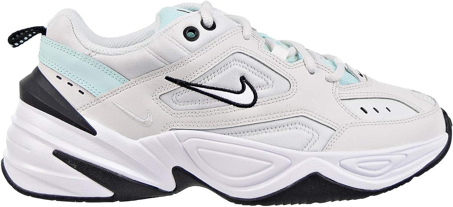 Nike M2K Tekno Chaussures pour femme Platinum TeintBlancBleu sarcelle ao3108 013
