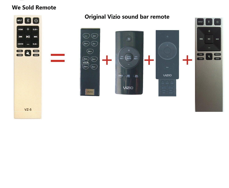Gvirtue Universal Sound Bar Remote Control Compatible Replacement for Vizio Sound Bar/Home Theater Sound Bar Remote, Applicable S3820W-C0 S2920W-C0 S3821W-C0 SB3830-C6M SB3831-C6M by Gvirtue