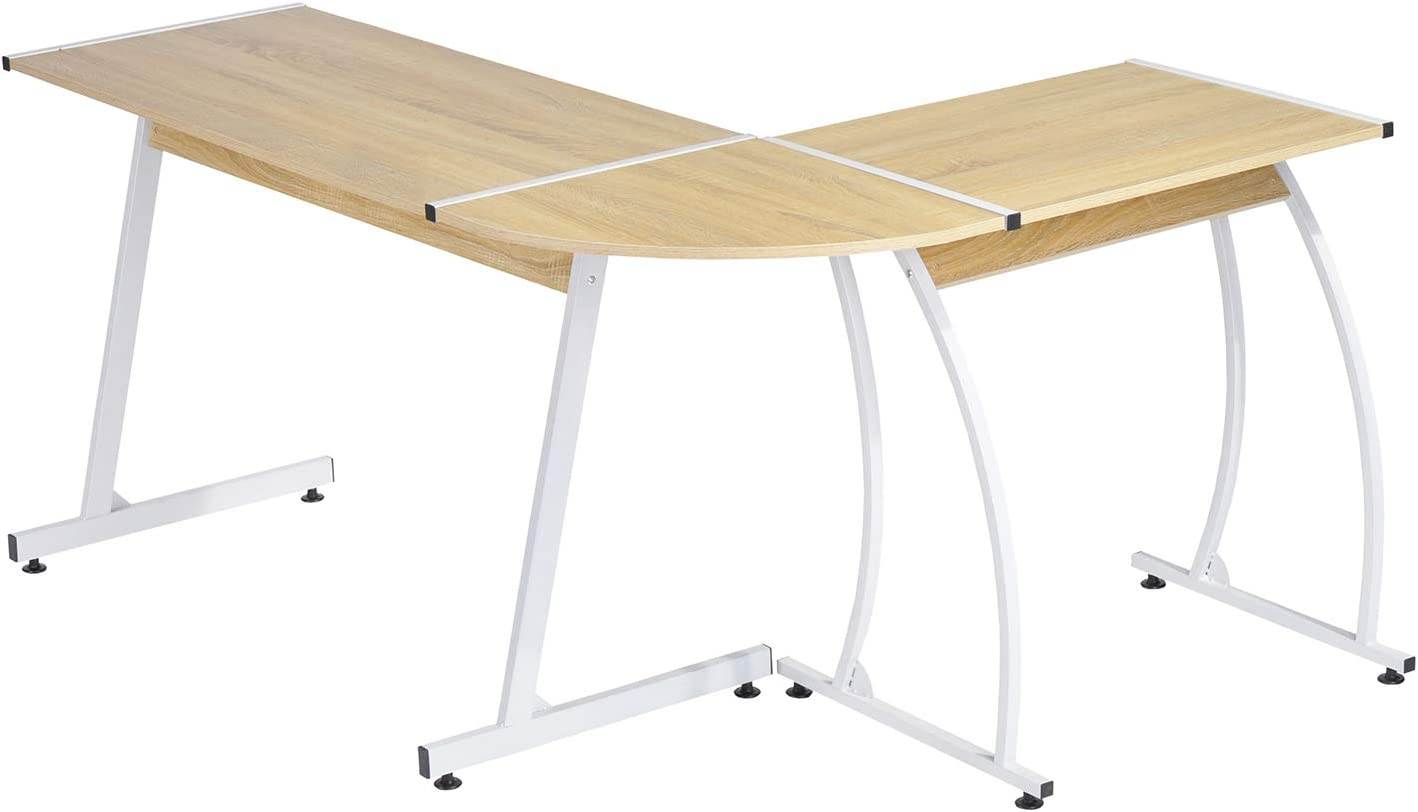 Furniture-r Francia Oficina Informática cuña en Forma de L Mesa de ...