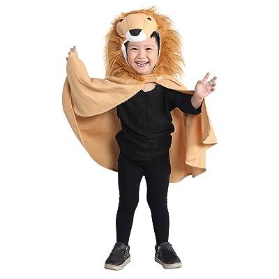 AN77 tamaño de 9 meses - 3 años leones traje Cap Cap Lion para muchachos niños trajes de carnaval disfraz de carnaval: Juguetes y juegos