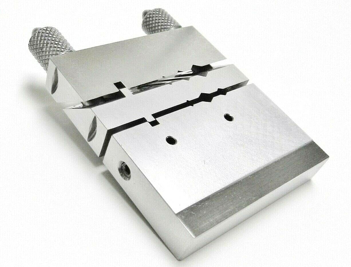 Jig Vise Miter Tube Cutter Filing Block Jewelers Tool Chenier Tube Saw Cutting by JTS
