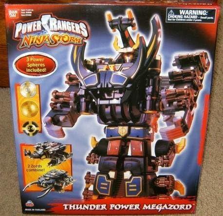 Amazon.com: Power Rangers Ninja Storm Thunder Power Megazord ...