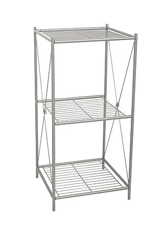 Amazon.com: Zenna Home 2557NN, Cross Style Floor Stand, Satin Nickel ...
