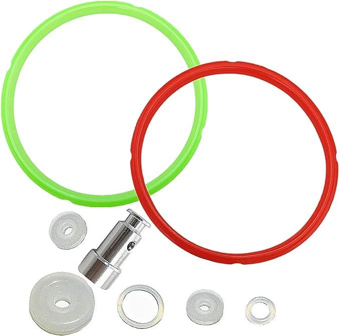 4pcs electrical power pressure cooker valve parts float sealer seal rings FadHUI