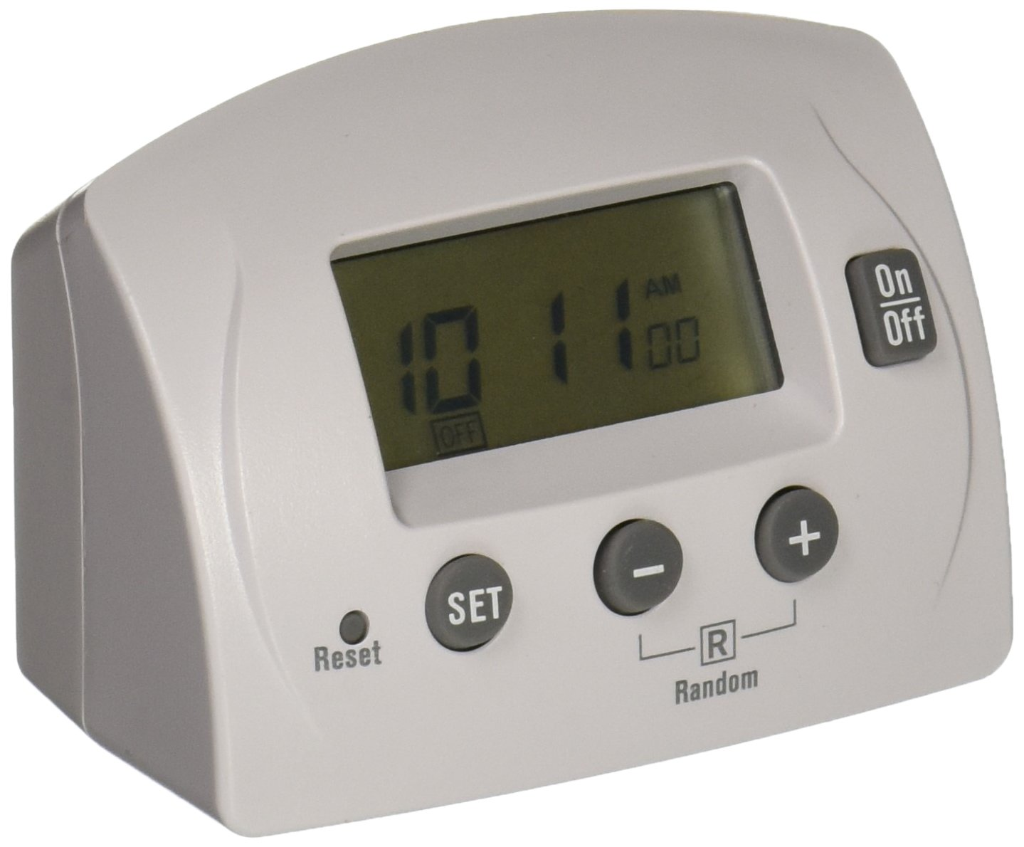 Power Zone Tnid7111 One Outlet 7 Day 4 Program Indoor Digital Timer Plug 2wire Polarized Rona Electrical Timers