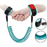 Kids Travelling helper By Rubikliss Kids Anti-lost Wrist Link Adjustable Toddler Reins Safety Wrist Link blue Walking Safety Harness Strap