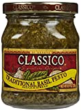 Classico Traditional Basil Pesto Sauce (8.1 oz Jar)