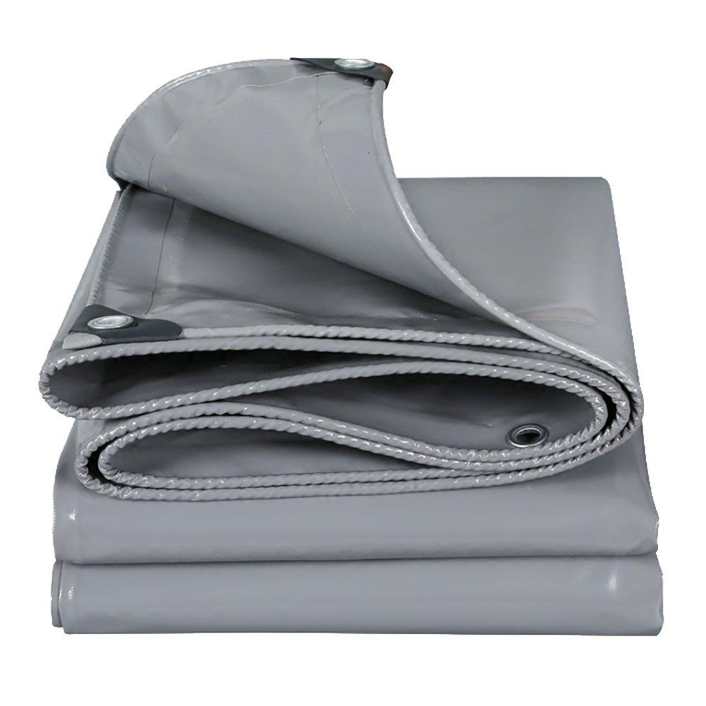 XING ZI tarpaulin X-L-H grau Regenschutz Tuch Wasserdicht Sonnenschutz Plane Plane Regen Tuch Plane Plane Sonnenschutz Tuch Markise Tuch