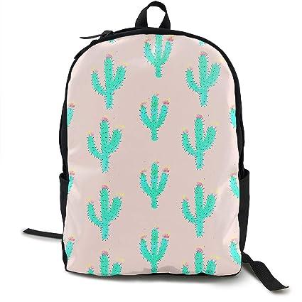 MGTXL Personality Knap Saco Drawn Cactus Tumblr Convenient Knap Saco