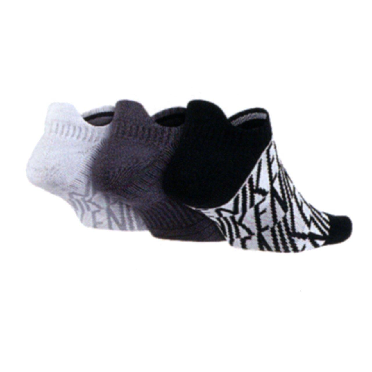 Nike Dri Fit Ammortizzata No-show Calzini Delle Donne 3-pk Con Arco XObD5asS