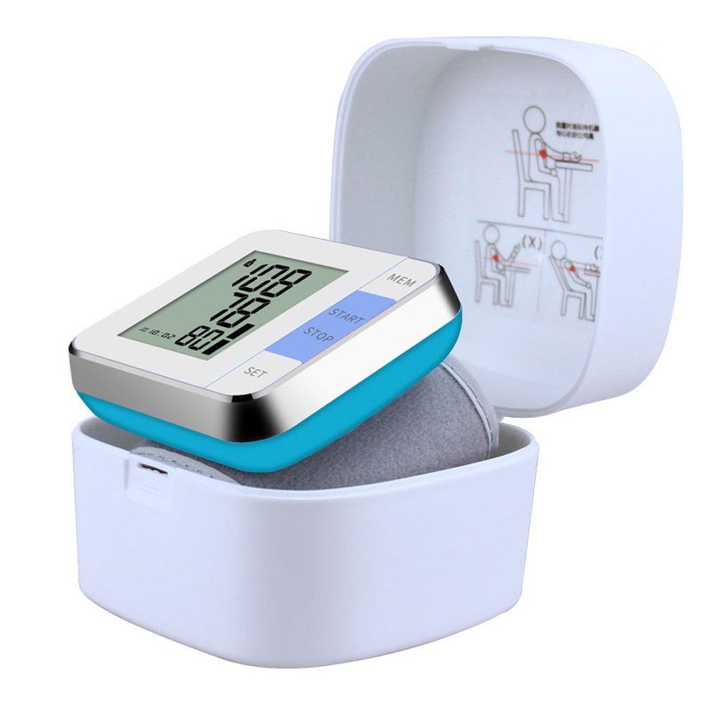 Monitor De La Presión Arterial De La Muñeca, Alarma De La Hipertensión, Tipo Monitor Automático De La Muñeca De La Presión Arterial Del Pun O, ...