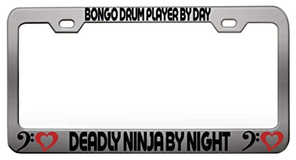 Amazon.com: BONGO DRUM PLAYER BY DAY DEADLY NINJA BY NIGHT ...