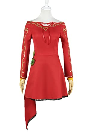 bc42eccd3 XOMO RWBY Cosplay Cinder Fall Antagonists Cinder's Faction Dress Costume XS