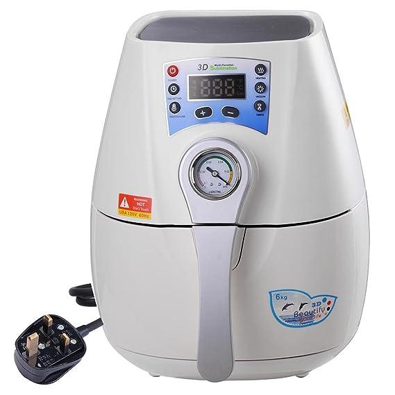 reasejoy 2 in1 mini 3d impresora de transferencia de vacío horno ...
