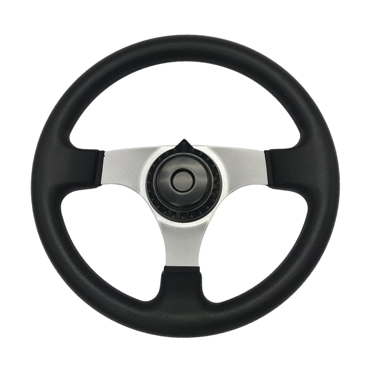 JA-ALL 300mm Steering Wheel for 150cc 250cc Go Kart Buggy Quad Hammerhead Kandi JCL