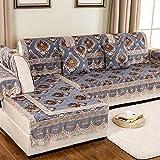 European Style Sofa Pad/Fabric Seat Cushion /Four Seasons Common Sofa Towel/Anti-skidding ,Living Room,Wood Sofa Towel-C