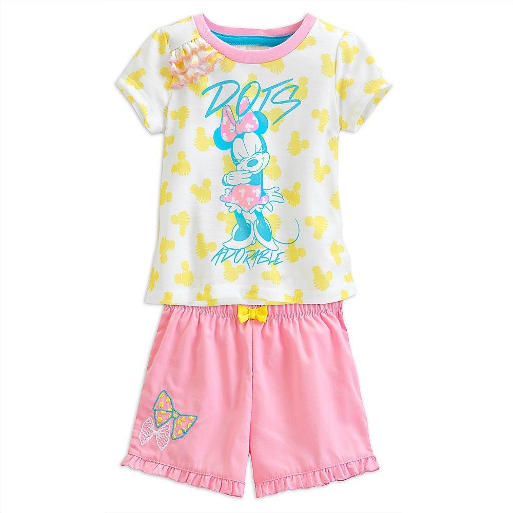 Disney Minnie Mouse Short Sleep Set Pajamas for Girls (4)
