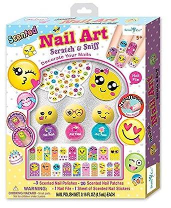 Amazon.com: SmitCo LLC Nail Polish For Girls - Non Toxic Emoji ...