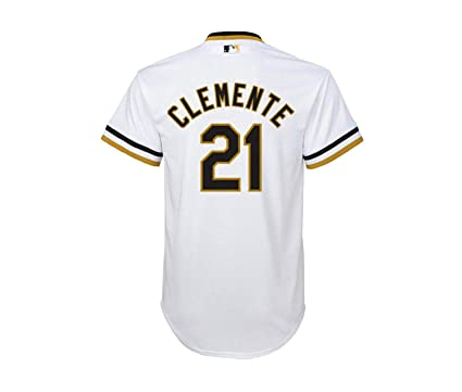 separation shoes efe7c 4b379 Amazon.com: Roberto Clemente Pittsburgh Pirates White Youth ...